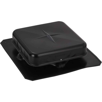 Airhawk 50 In. Black Aluminum Square Roof Vent