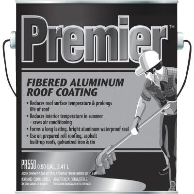 Premier 1 Gal. Fibered Aluminum Roof Coating