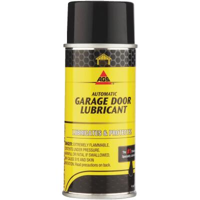 AGS 4 Oz. White Lithium Aerosol Spray Garage Door Opener Grease