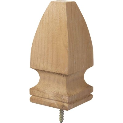 ProWood 3-1/8 In. x 6-3/4 In. Treated Wood Gothic Post Cap