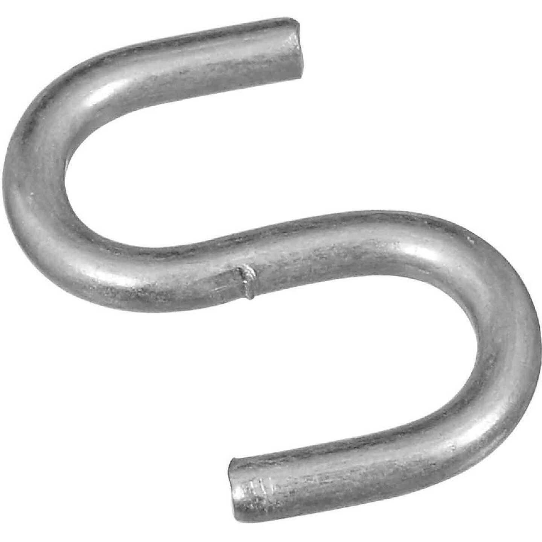 National 3/4 In. Zinc Heavy Open S Hook Image 1