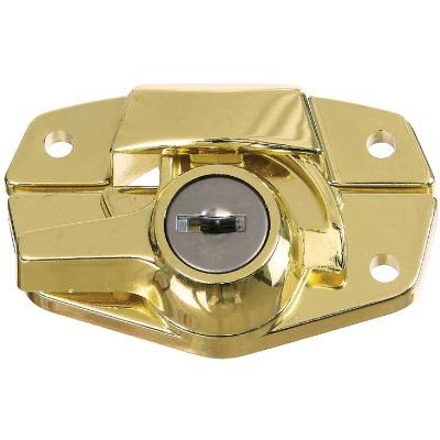 National Brass Finished Die-Cast Sash Lock