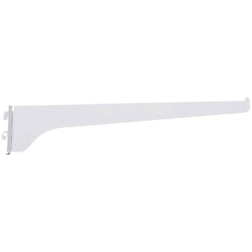 Knape & Vogt 180 Series 12 In. Titanium Steel Regular-Duty Single-Slot Shelf Bracket