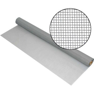 Phifer 32 In. x 100 Ft. Gray Fiberglass Mesh Screen Cloth