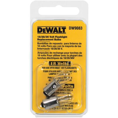 DeWalt 18V Xenon Replacement Flashlight Bulb (2-Pack)