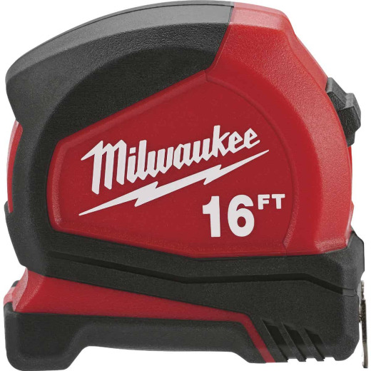 Milwaukee 16 Ft. Compact Tape Measure
