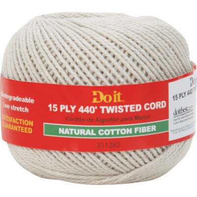 Do it 15-Ply x 440 Ft. Natural Twisted Cotton Cord