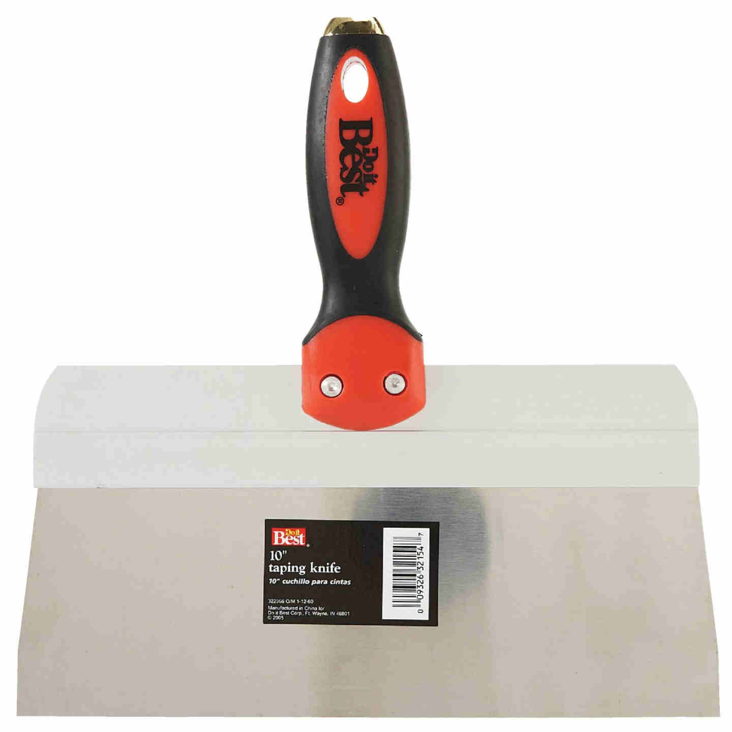 Do it Best 10 In. Stainless Steel Taping Knife Image 1